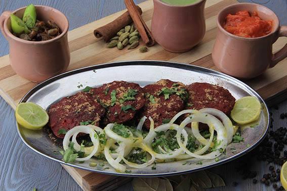 كباب شامى مهراجا